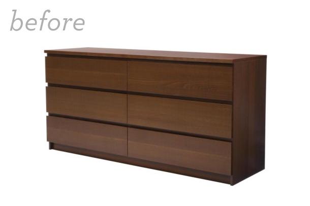 Mid century modern diy ikea malm dresser with myoverlays com sarah