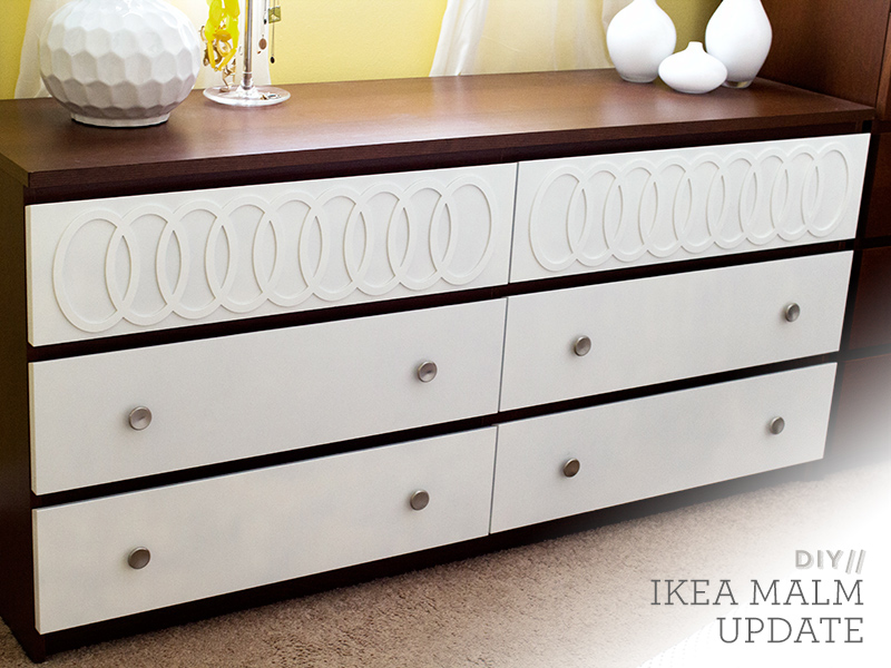 sarah hearts diy ikea malm mid century modern dresser. Black Bedroom Furniture Sets. Home Design Ideas
