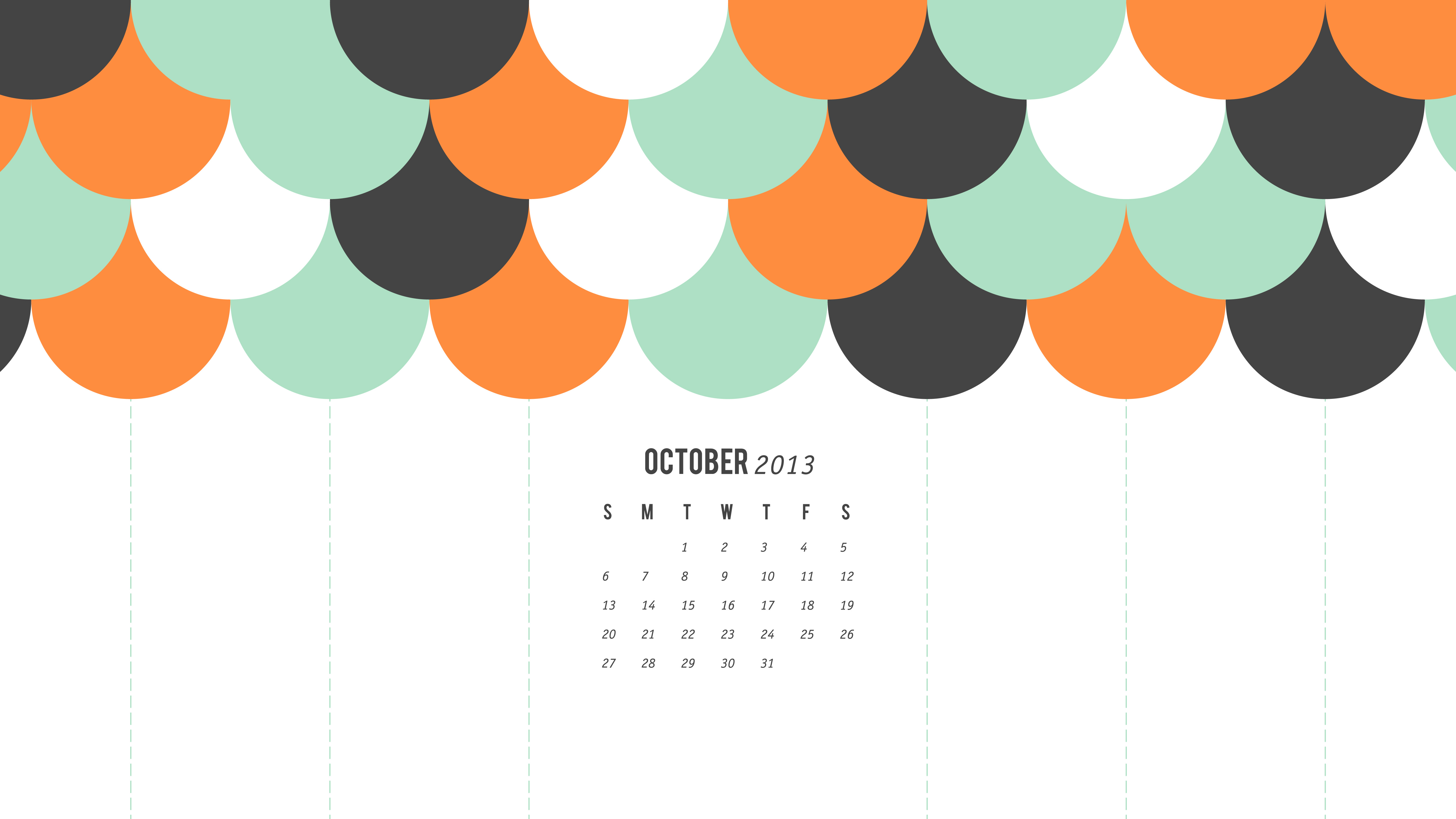 Calendar Background Design : Sarah hearts october calendar wallpaper