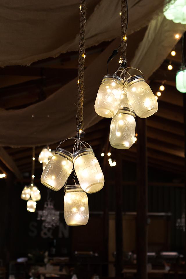Sarah Hearts LED Mason Jar Lights